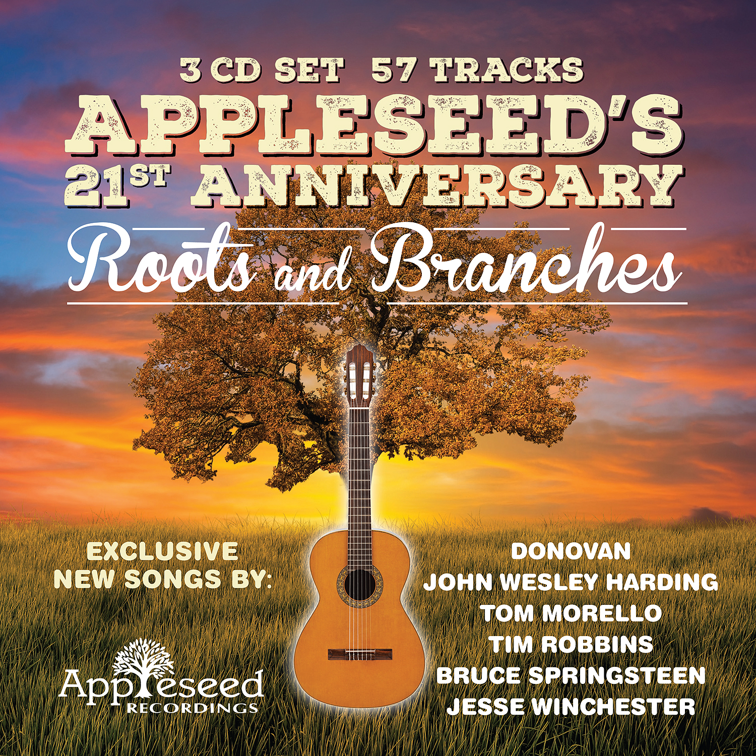 Various Artists | Appleseed's 21st Anniversary: Roots & Branches (2018)