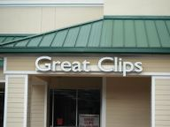 Sign Example - Great Clips