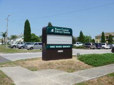 Sign Example - New River Library