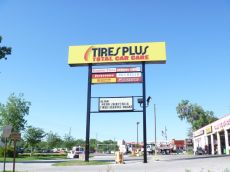 Sign Example - Tires Plus