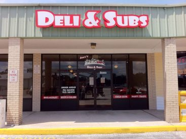 Sign Example - Deli & Subs