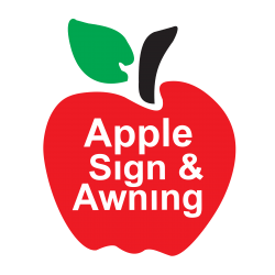 Apple Sign & Awning