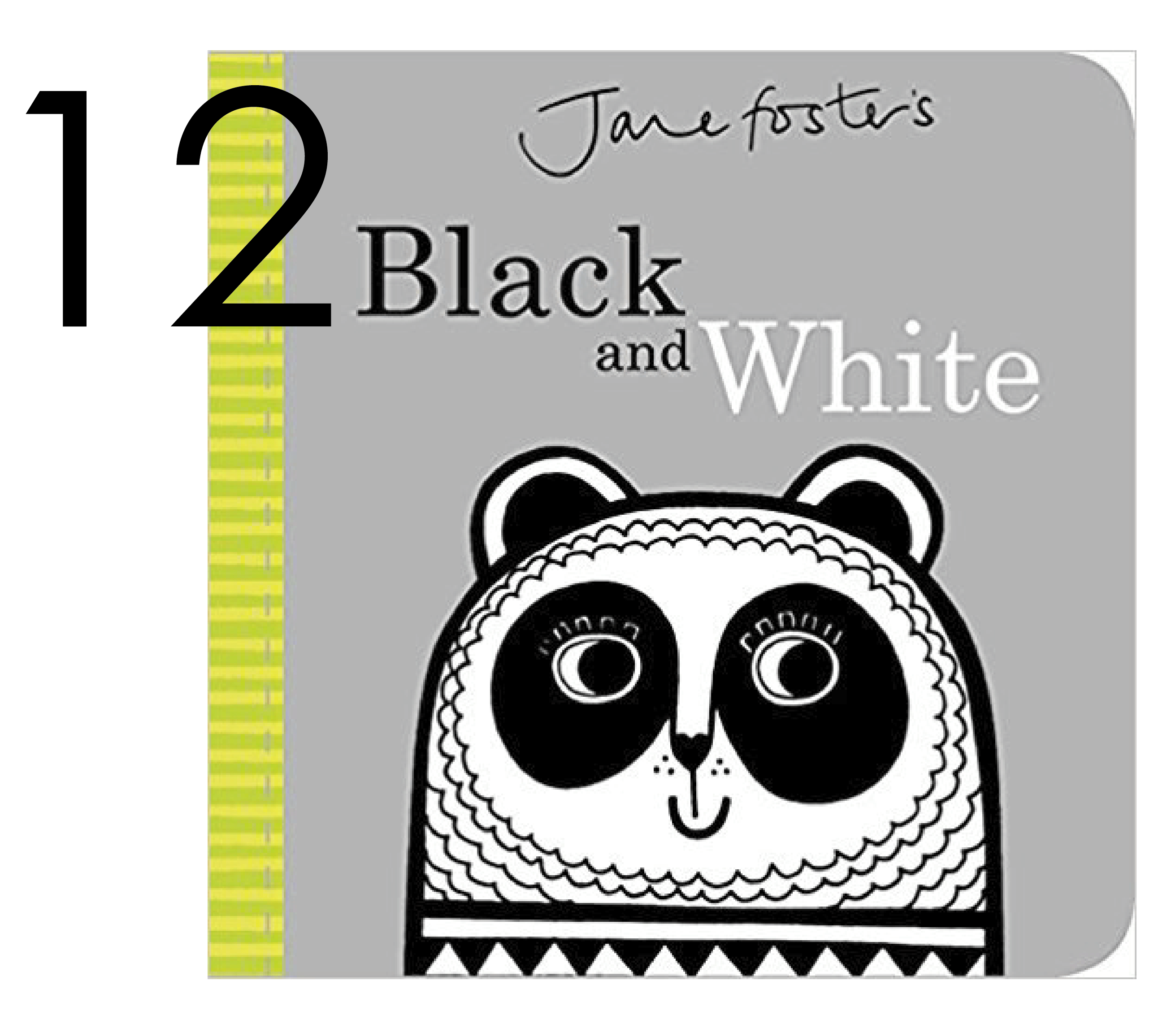 Back and White Infant and Baby Board Book for the Holidays and Christmas