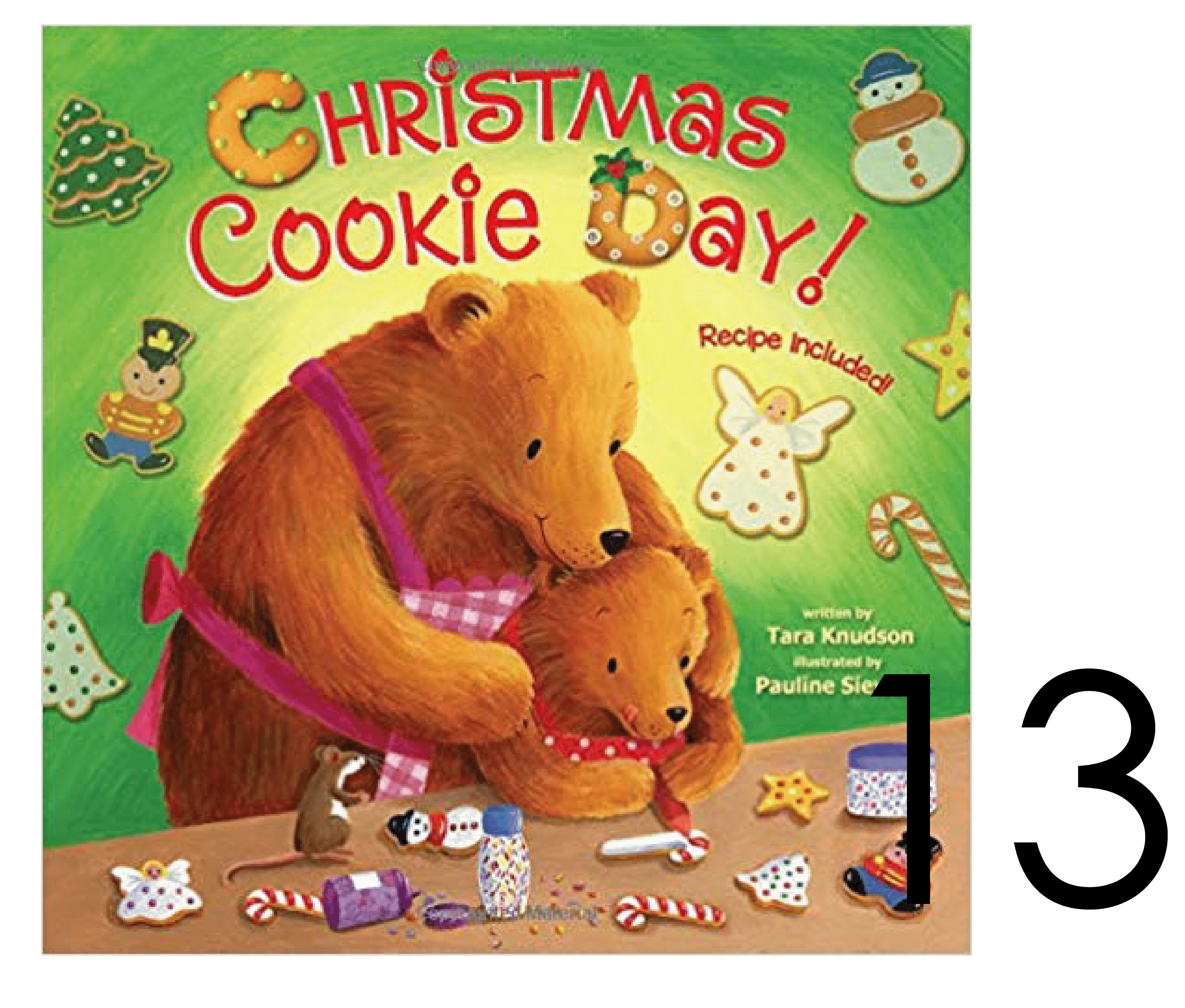 Christmas Cookie Day Baby Board Book in a Collection of Holiday Books