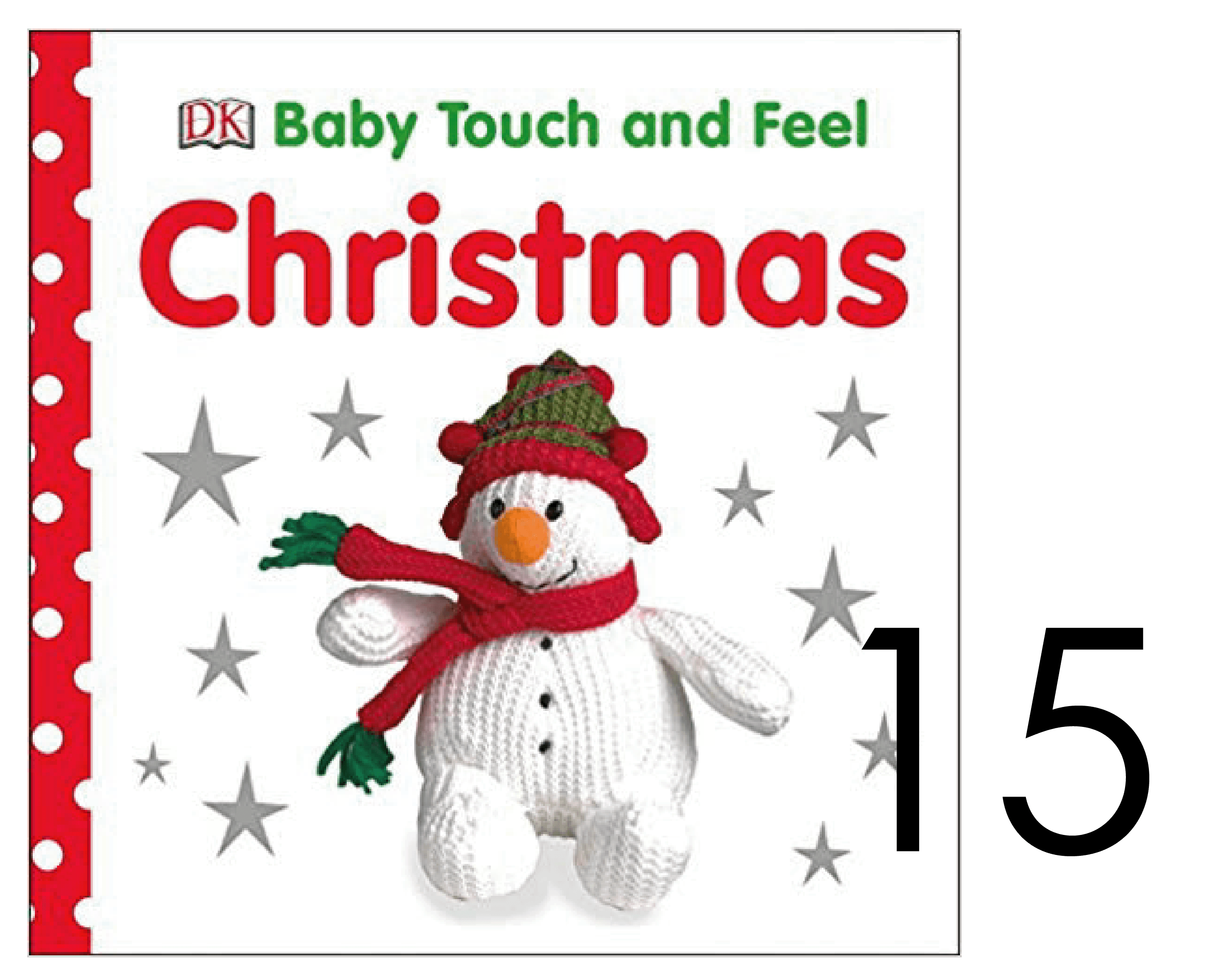 Christmas Baby Touch and Feel Book for Infants