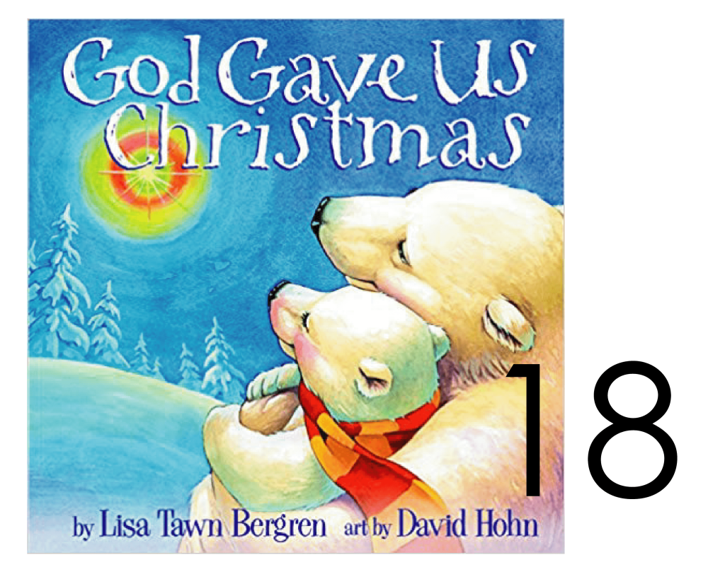 God Gave us Christmas Infant Board Book for the Holidays