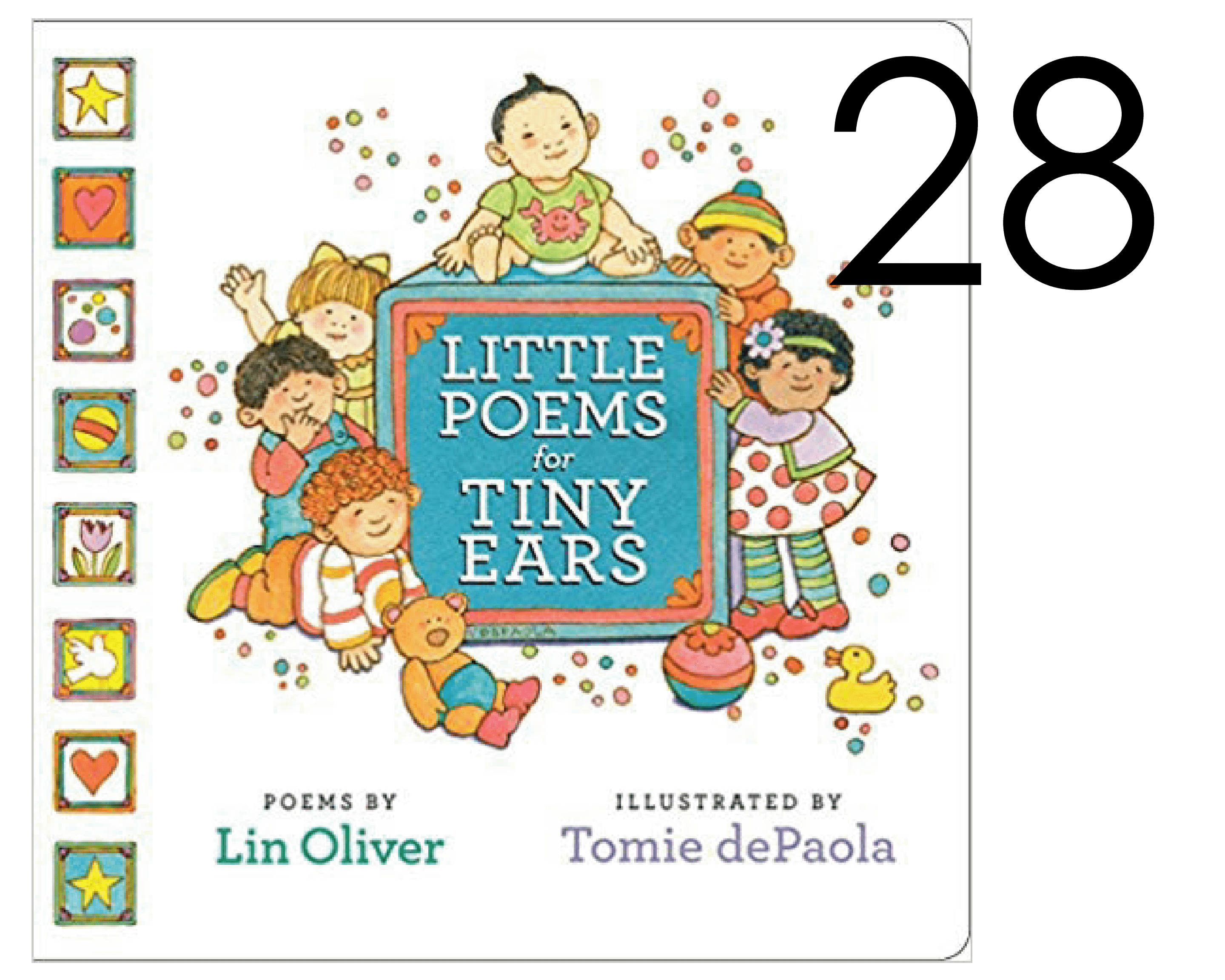 Litte Poems for Tiny Ears Holiday List of Books
