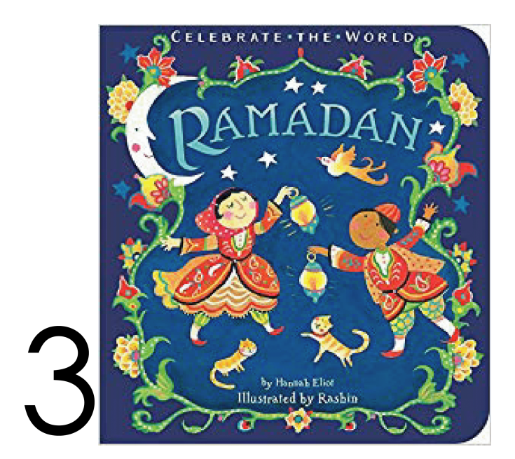 Ramadan Holiday. Books for Apple Slices