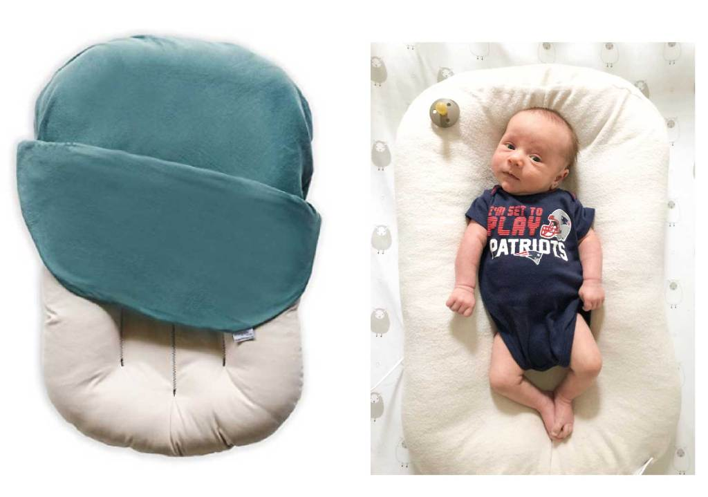 Amazon must have for baby's first month - Snuggle Me Organic Sleep Lounger
