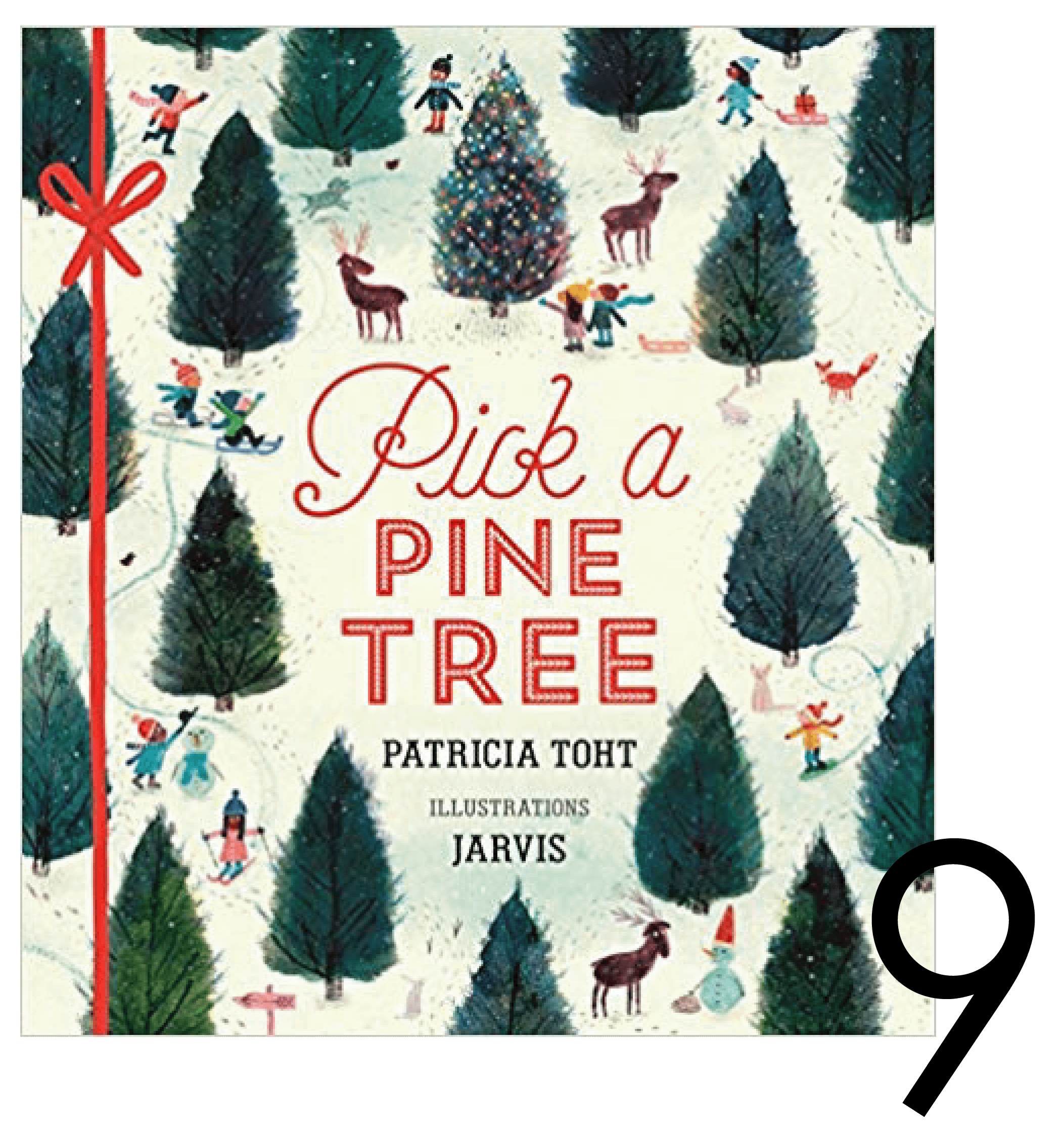 Pick a Pine Tree Christmas and Holiday Book Countdown