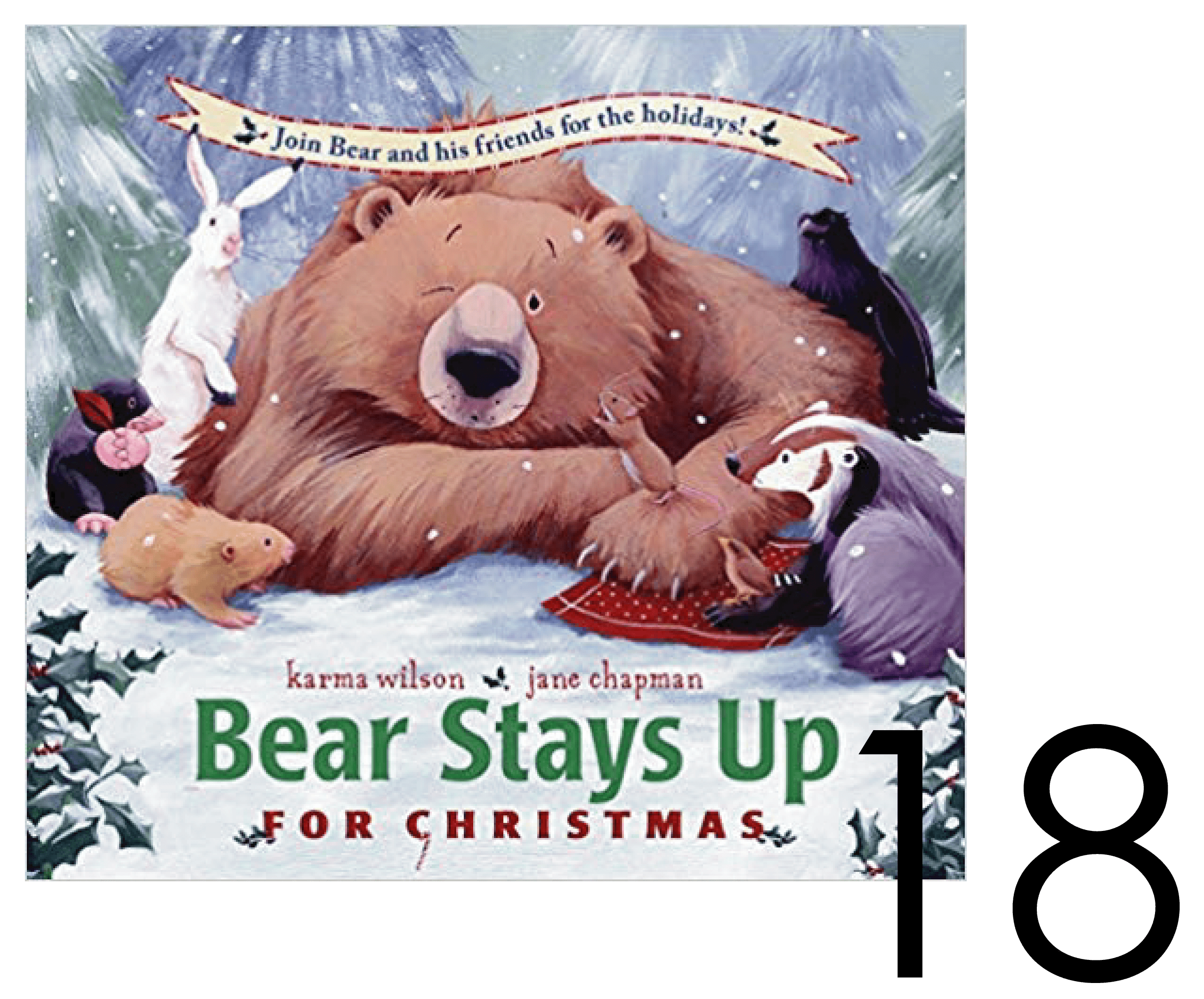 Bear Stays up for Christmas - Christmas and Holiday Book Countdown