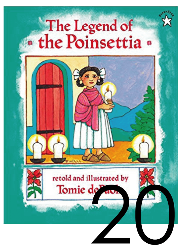 The Legend of the Poinsettia Christmas and Holiday Book Countdown