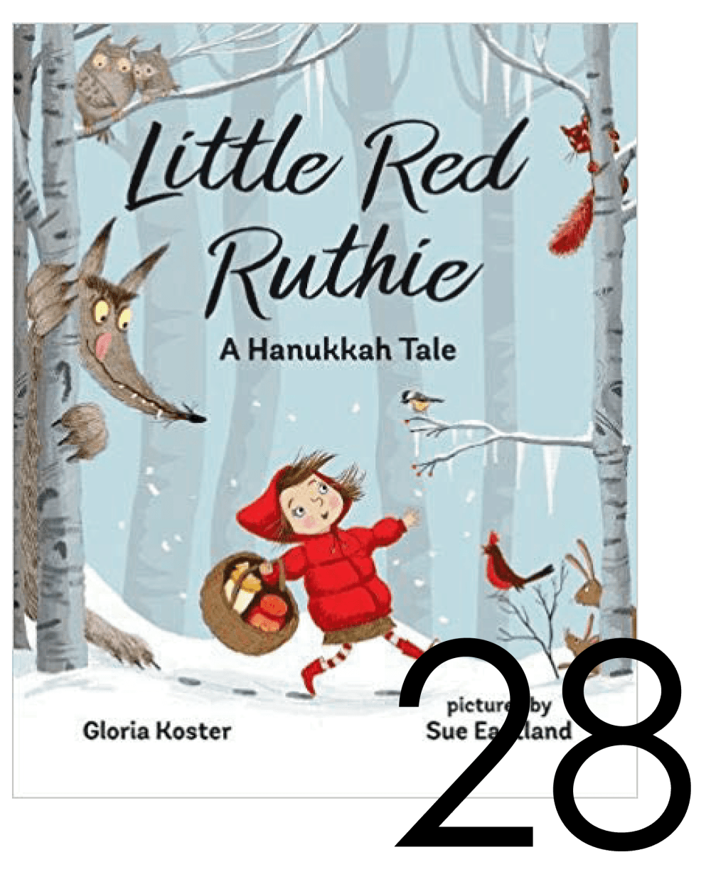 Little Red Ruthie a Hanukkah Tale Christmas and Holiday Book Countdown