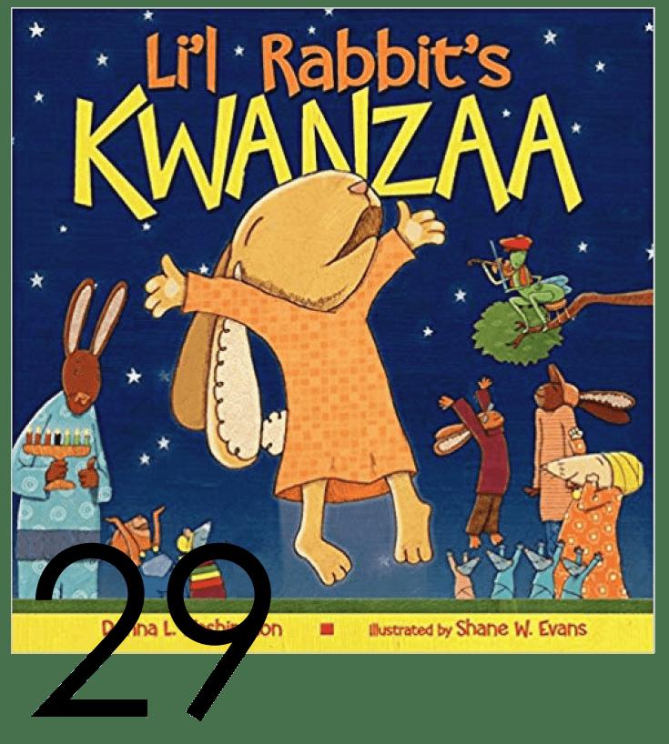 Li'l Rabbit's Kwanzaa Christmas and Holiday Book Countdown