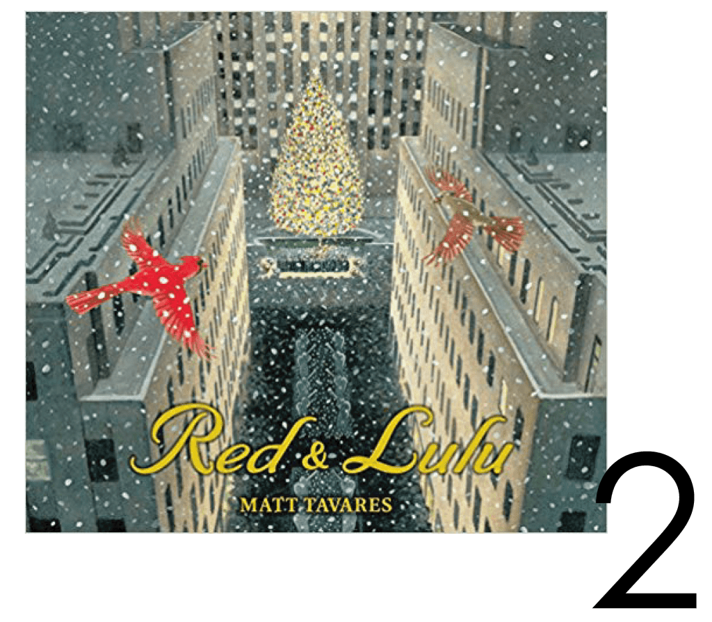 Red and Lulu Christmas and Holiday Book  Countdown