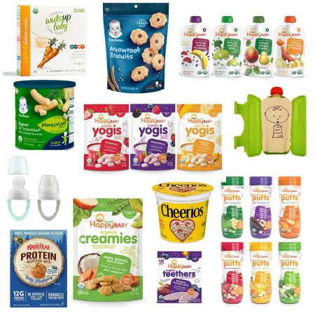 The best snacks for infants on Amazon