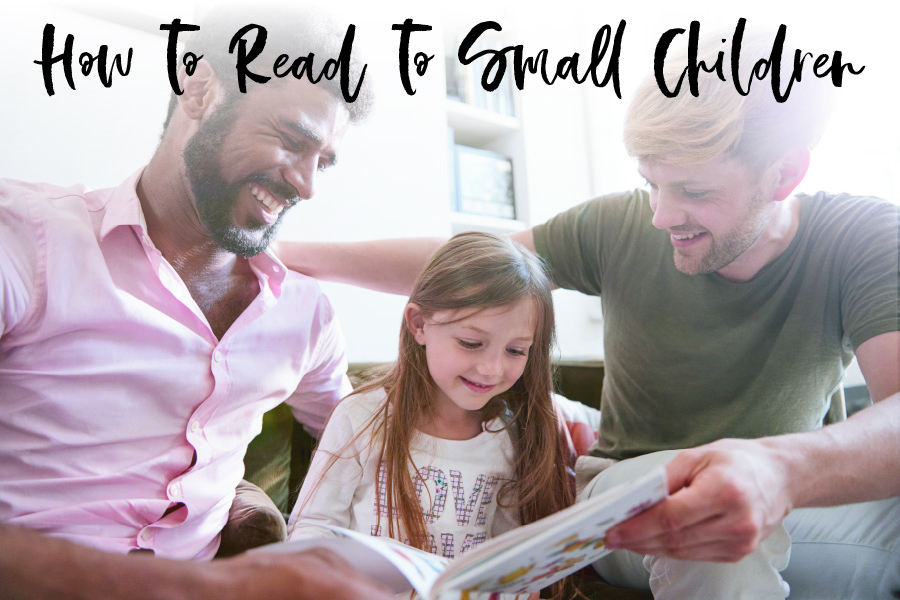 How to read to small children blog post