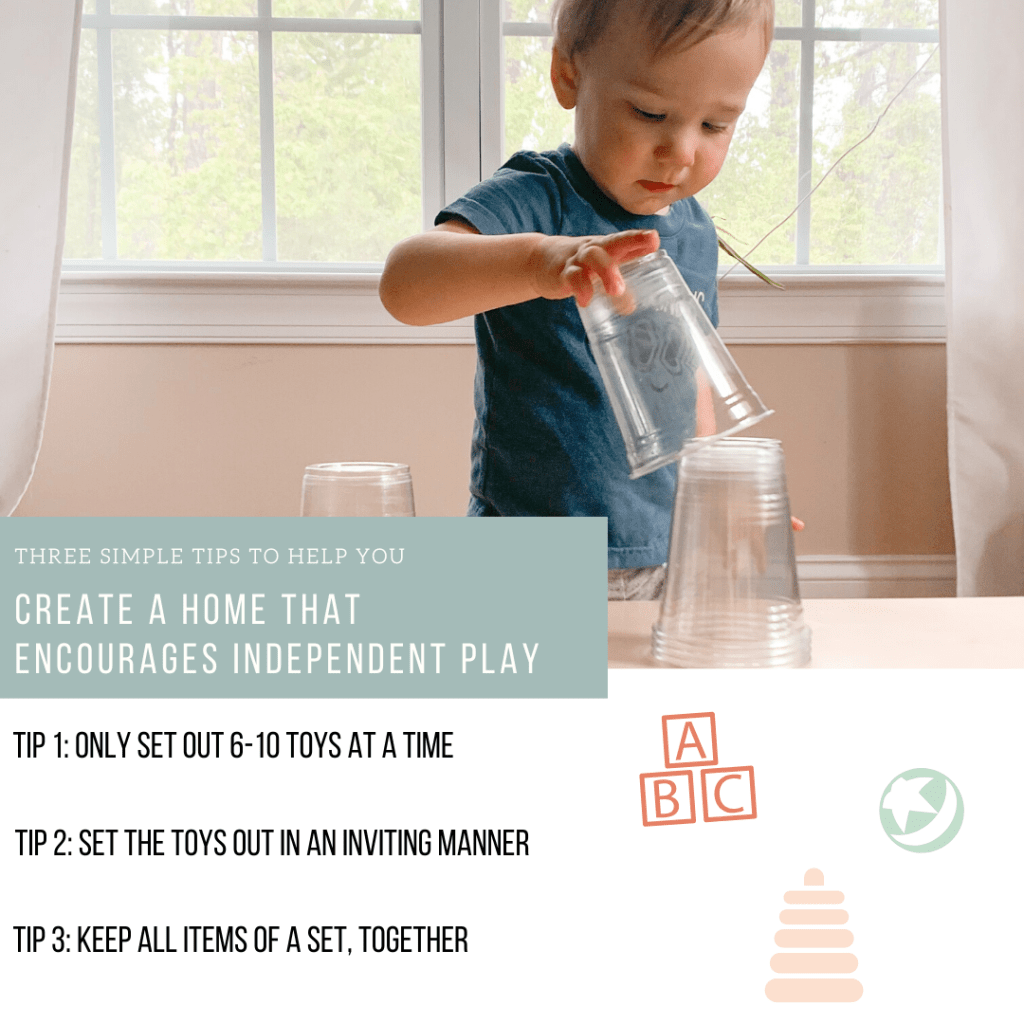three simple tips to encourage independent play