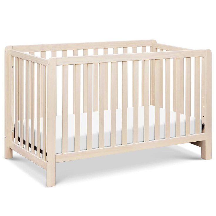Full baby crib to toddler bed convertible crib