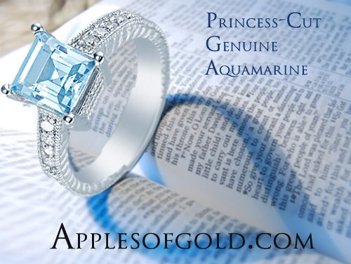 Aquamarine Engagement Rings For The One Who Refreshes Your