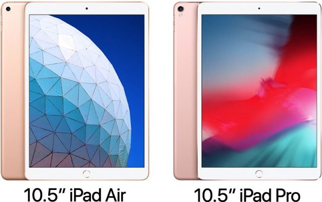 iPad Air 2019 vs iPad Pro 2017