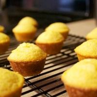 Honey Cornbread Mini Muffins