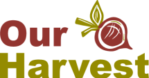 Our Harvest logo and link to their website