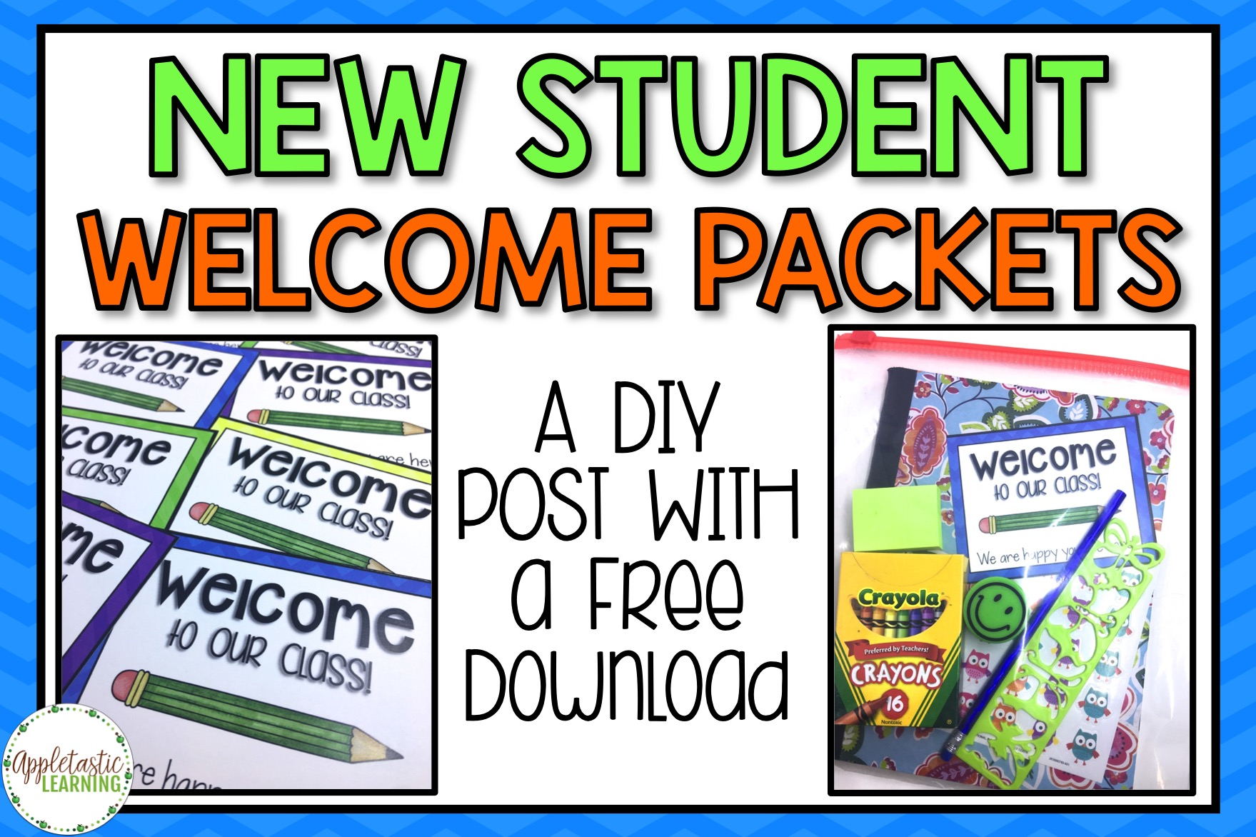 Free Diy New Student Welcome Packets