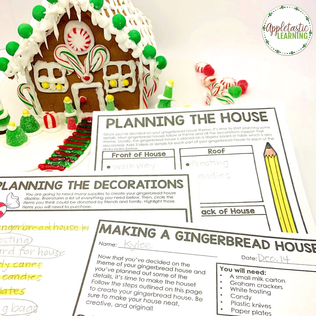 Christmas Writing Activities For Middle School