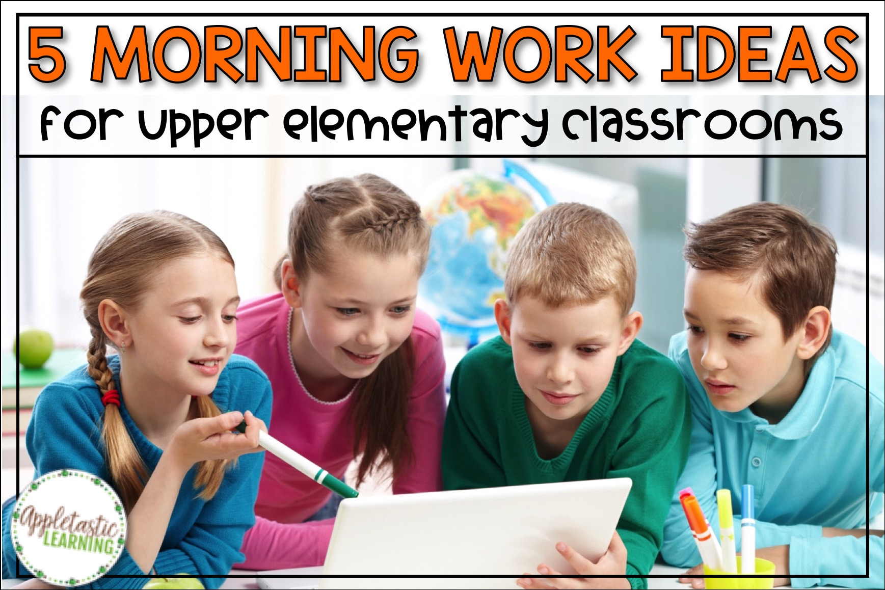 5 Morning Work Ideas For Upper Elementary Grades