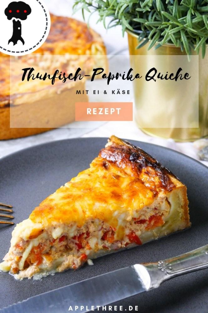 Thunfisch-Paprika Quiche