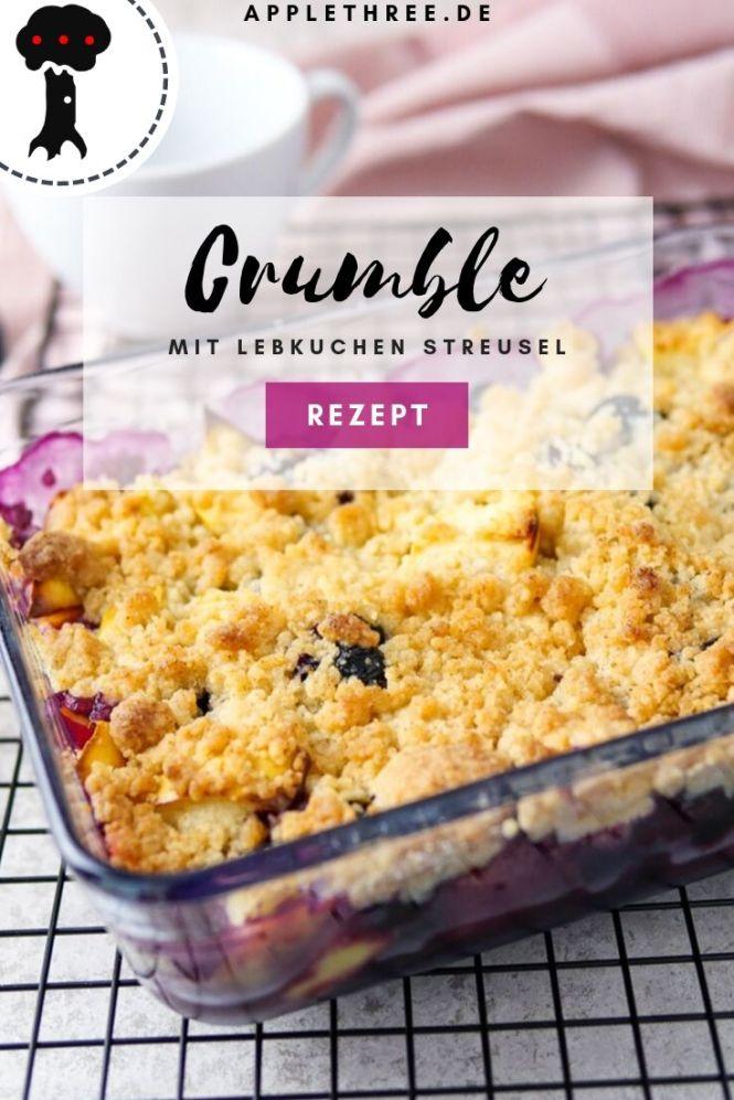 lebkuchen crumble