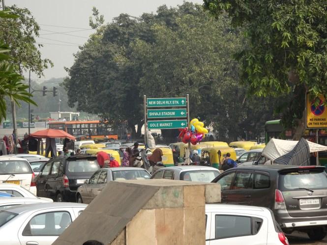 verkehr in delhi verkehr in indien