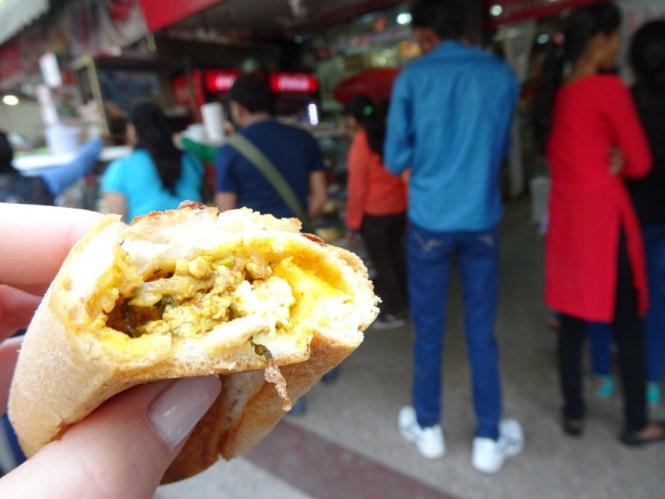 indisches essen hot dog