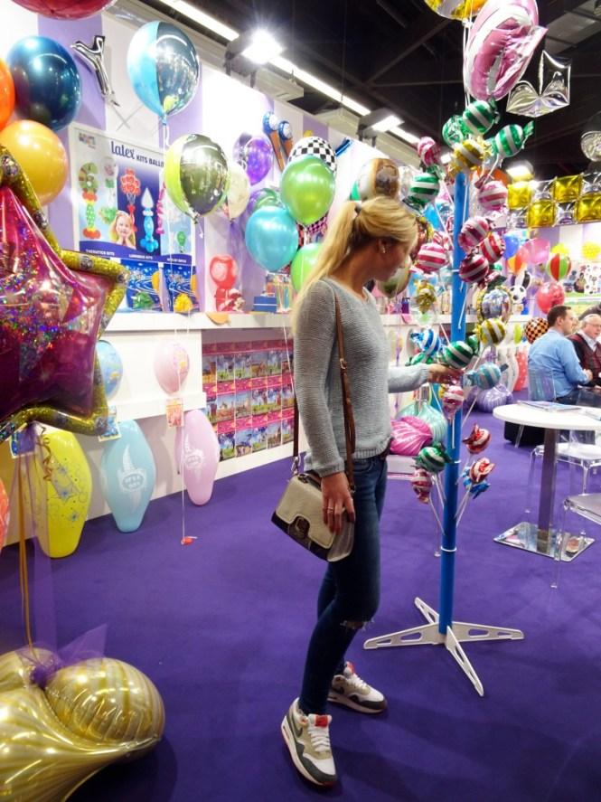 ballons auf der spielwarenmesse