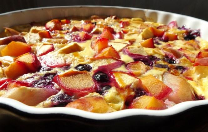 früchte kuchen healthy