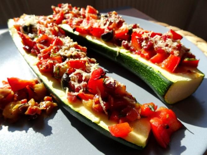 zucchini baguette