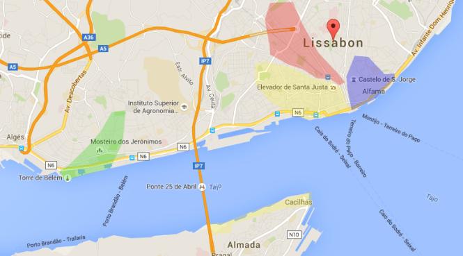 Übersicht Lissabon