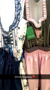 dirndl shopping