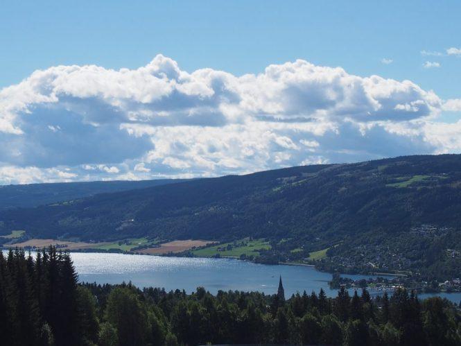 Blick über Lillehammer