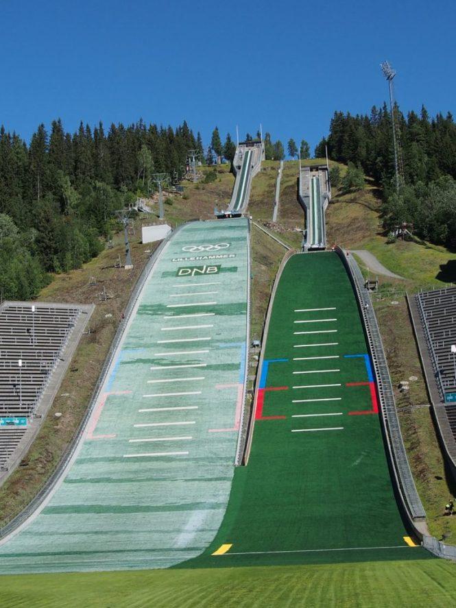 Lillehammer Skisprungschanze