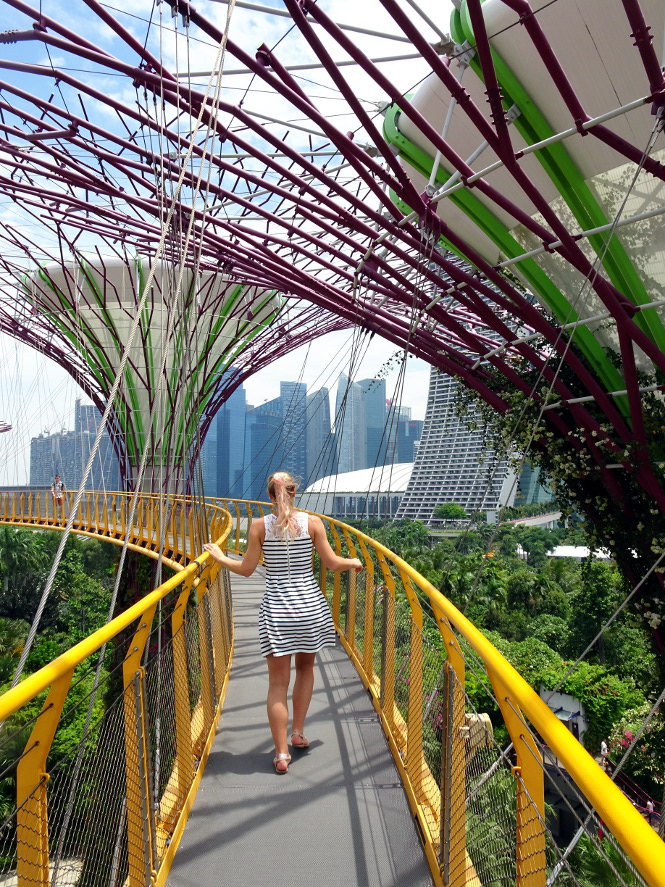 supertree grove skywalk singapur travelguide