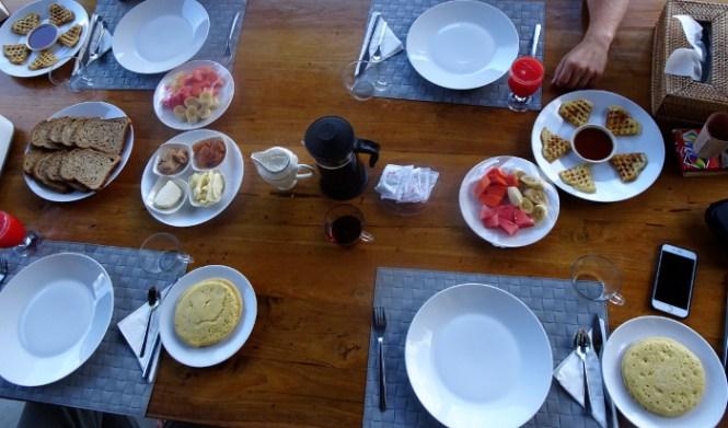 bali norden sanglung villa breakfast