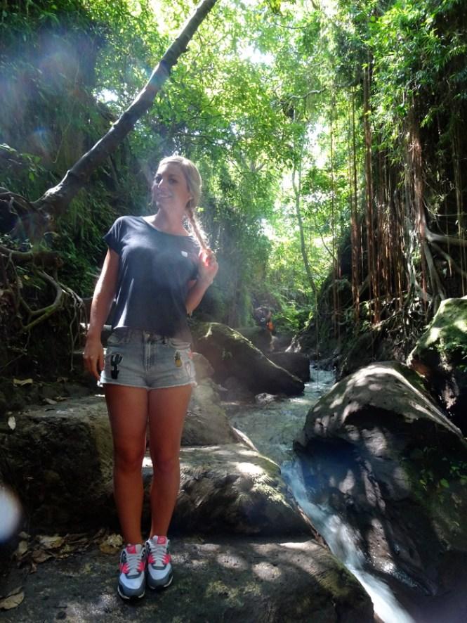 ubud monkey forest tourist