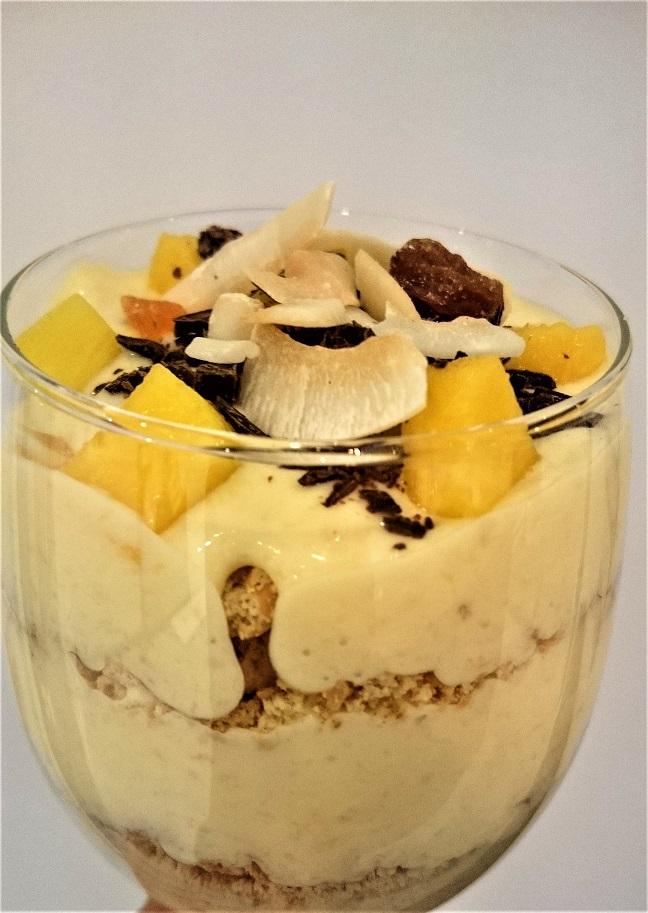 Keks-Kokos-Mango-Banane