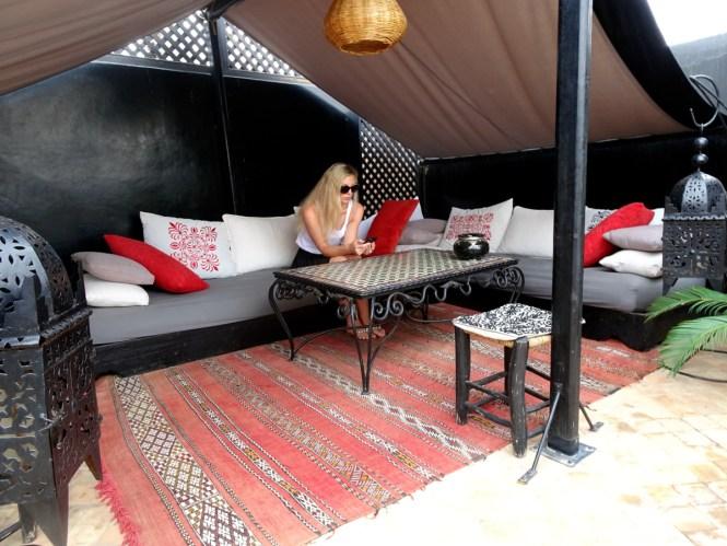 Marrakesch Tipps und Travelguide riad ba sidi terrasse