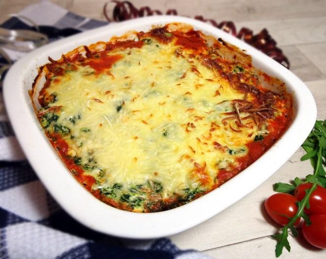 auflauf-mit-ricotta-tomaten-und-spinat