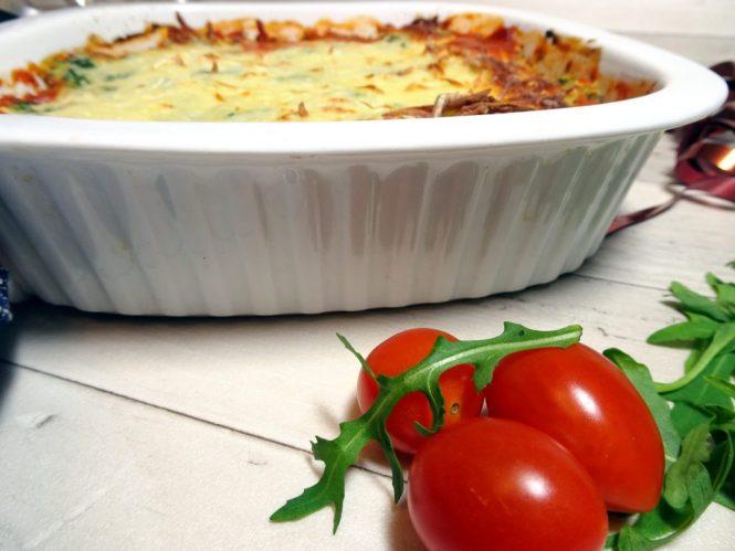 spinat-tomaten-ricotta-auflauf