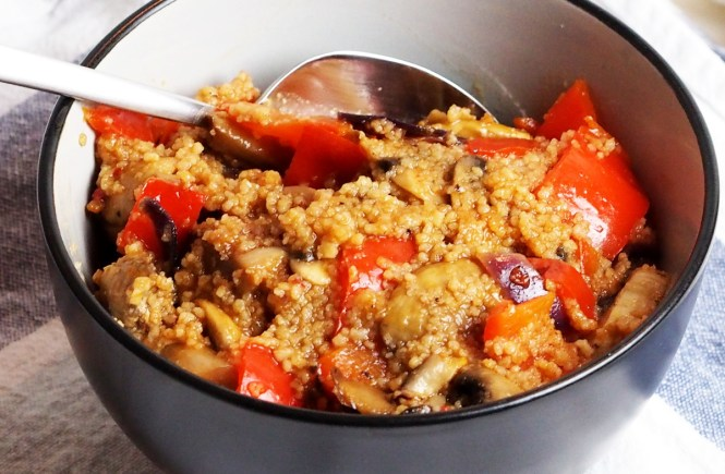 couscous bowl healthy