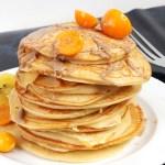 ricota pancake physalis kiwi healthy